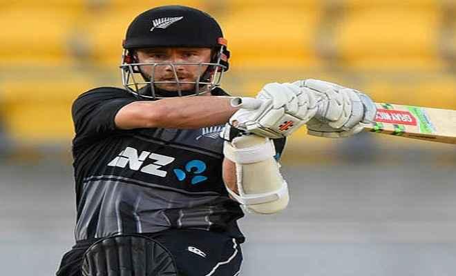 न्यूजीलैंड ने इंग्लैंड को त्रिकोणीय टी-20 सीरीज में हराकर अपनी पहली जीत दर्ज की