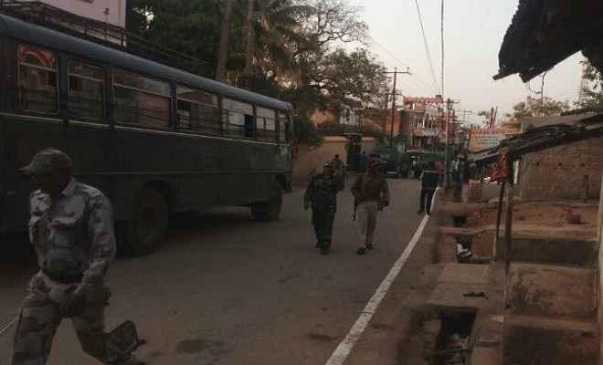 रांची-टाटा रोड पर बुंडू में फेसबुक पोस्ट के बाद तनाव