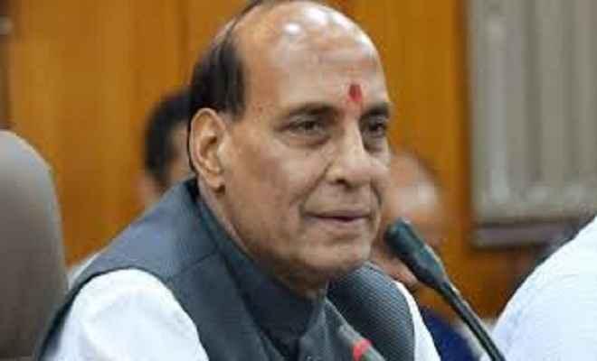 केन्द्रीय गृह मंत्री राजनाथ सिंह ने कहा हम भारत को जगतगुरू बनाना चाहते है