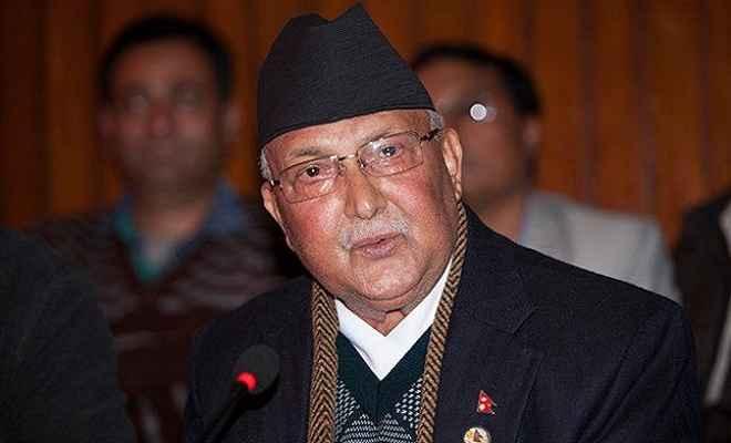नेपाल के प्रधानमंत्री के. पी. शर्मा ओली बने