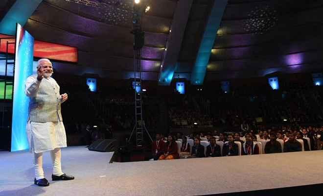 प्रधानमंत्री नरेंद्र मोदी ने देशभर के विद्यार्थियों से 'परीक्षा पर चर्चा' की