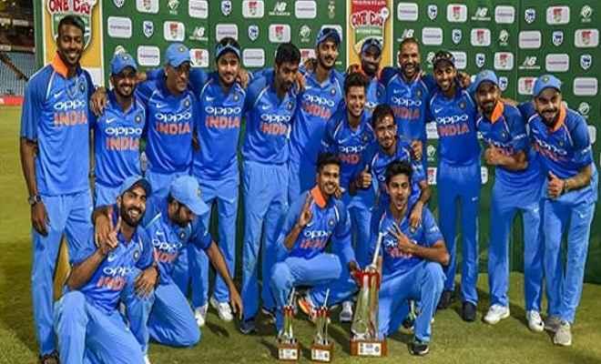 भारत ने सीरीज के छठे और अंतिम वनडे मैच में आठ विकेट से जीत दर्ज की