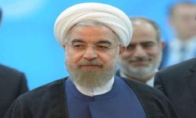 ईरान के राष्ट्रपति हसन रूहानी भारत दौरे पर