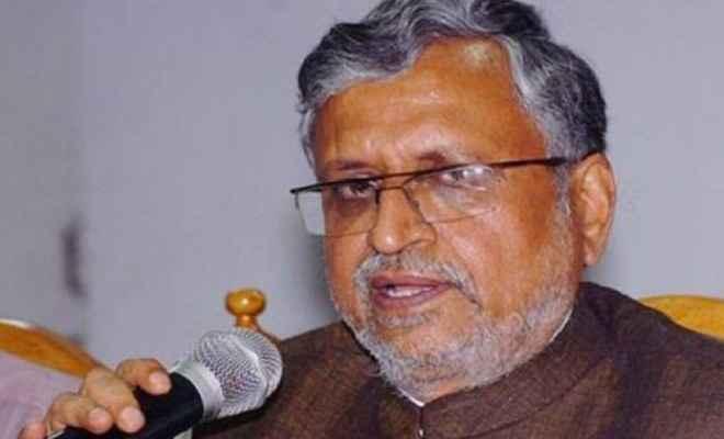 सुशील मोदी ने कहा 'जिन्हें भ्रष्टाचार के चलते सत्ता से बाहर होना पड़ा, वे बोलने लायक ही नहीं थे'