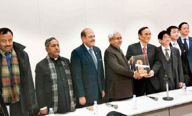 बिहार में इलेक्ट्रॉनिक और ऑटोमोबाइल फैक्टरी लगाने के लिए जापान के निवेशकों को न्योता : नीतीश कुमार