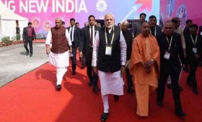 यूपी इन्वेस्टर्स समिट 2018 :  प्रदेश को समृद्धि की तरफ ले गए योगी : प्रधानमंत्री