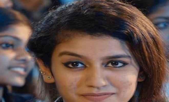 'नेशनल क्रश' प्रिया प्रकाश को सुप्रीम कोर्ट से राहत