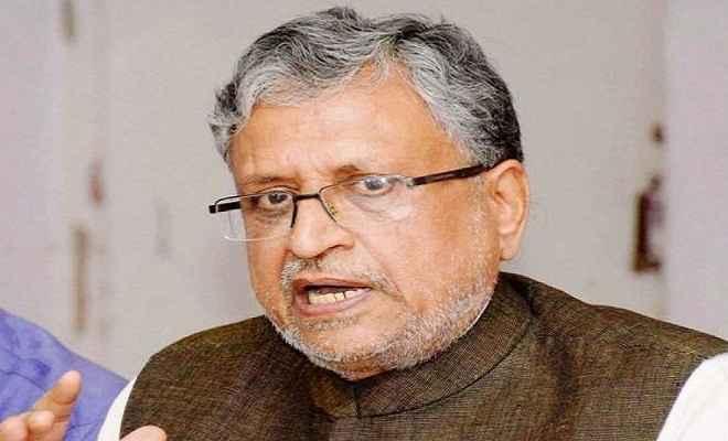 सुशील मोदी ने कहा खेतों और घरों के लिए अलग होगी बिजली लाइन