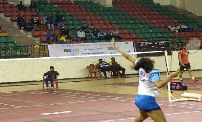 32वें ऑल इंडिया पोस्टल बैडमिंटन टूर्नामेंट में लीली लक्ष्मी क्वार्टर फाइनल में पहुंची