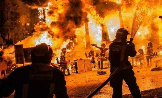 हैदराबाद की दवा फैक्ट्री में आग, चार कर्मचारी झुलसे