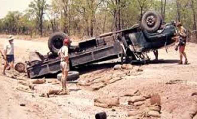 एंटी लैंड माइन्स वाहन दुर्घटनाग्रस्त होने से एक जवान की मौत, दूसरा घायल
