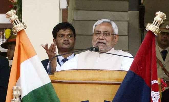 नीतीश कुमार ने कहा बिहार में कानून का राज है और रहेगा