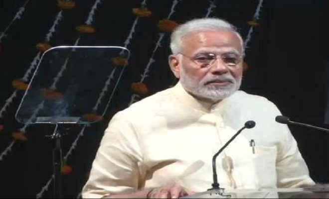 प्रधानमंत्री नरेंद्र मोदी ने कांग्रेस पर जमकर किया हमला