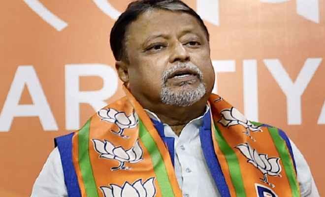 मुकुल राय को भाजपा ने बंगाल में पंचायत चुनाव की अहम जिम्मेदारी सौंपी