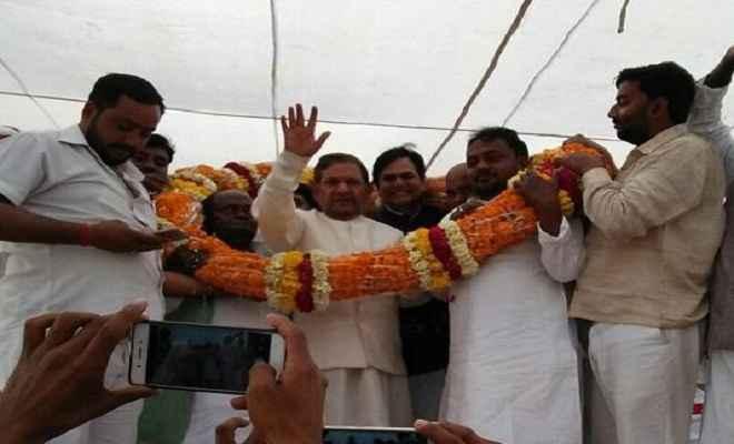 शरद यादव ने मुख्यमंत्री नीतीश कुमार पर जमकर साधा निशाना