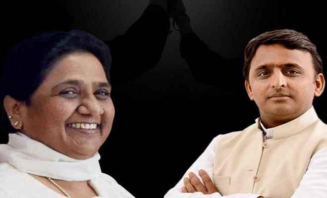 भाजपा ने सपा-बसपा के तालमेल को 'स्वार्थ का गठबंधन' बताया