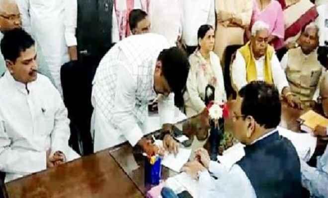 कांग्रेस ने राज्यसभा चुनाव के लिए अखिलेश प्रसाद सिंह को अपना उम्मीदवार घोषित किया