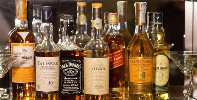 पुलिस ने 1516 बोतल विदेशी शराब बरामद की