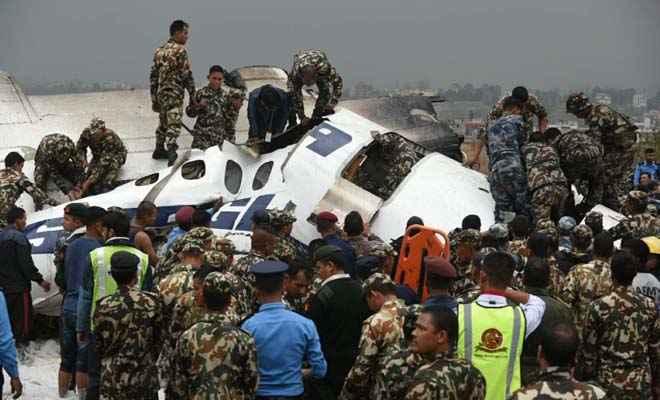 नेपाल में बांग्ला एयरलाइंस का प्लेन क्रैश, सवार थे 71 लोग, 36 की मौत