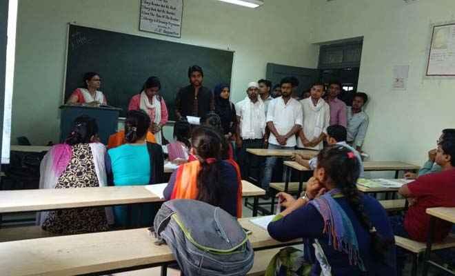 मगध विवि छात्रसंघ चुनाव: सम्मानजनक शिक्षा, सुरक्षा और मजबूत लोकतंत्र के नाम पर मांगे वोट