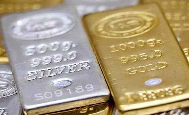 सोना 100 और चाँदी 150 रुपए घटे