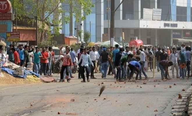 पटना में एसएससी और दारोगा अभ्यर्थियों का बवाल, पुलिस ने दौड़ा-दौड़ाकर पीटा