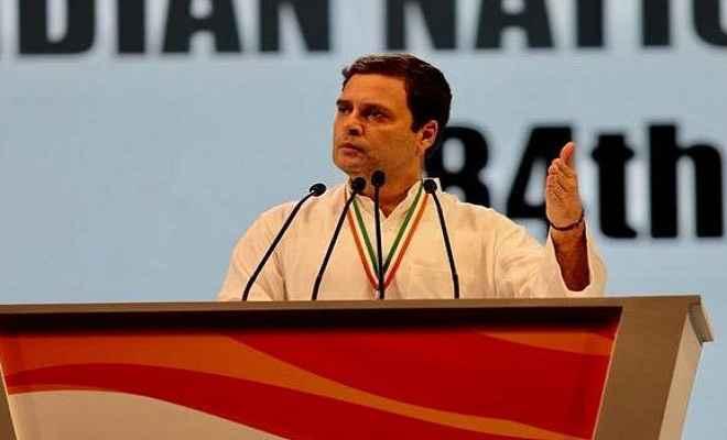 कांग्रेस ही देश को दिशा दे सकती है : राहुल