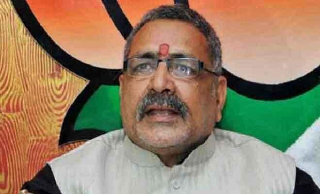 गिरिराज सिंह ने कहा, लोकतंत्र के नाम पर हो रही है देश को कमजोर करने की कोशिश
