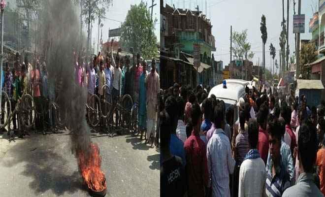 चिरैया के मीरपुर के समीप ट्रक की चपेट में आये बाइक सवार, मां की मौत, पुत्र पटना रेफर