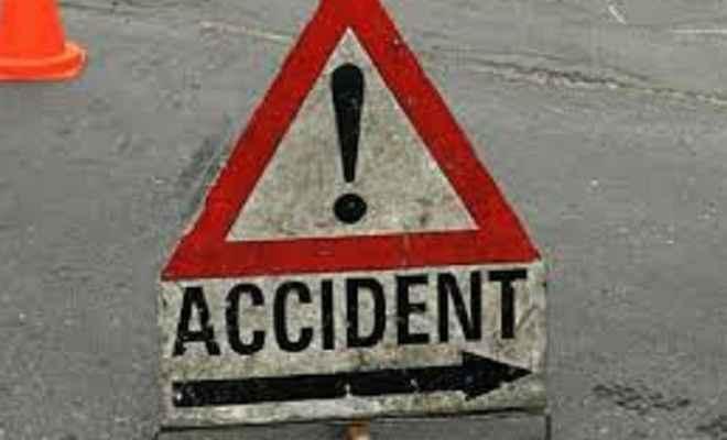 सड़क दुर्घटना में तीन डॉक्टरों की मृत्यु, चार घायल