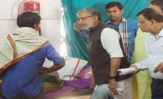 सड़क हादसा रोकने को ठोस कदम उठाएगी सरकार: सुशील कुमार मोदी