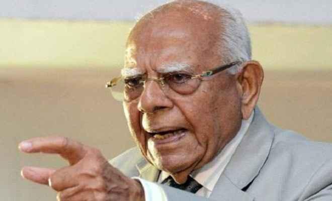 देश को ईमानदार नेताओं वाले तीसरे मोर्चे की जरूरत: राम जेठमलानी