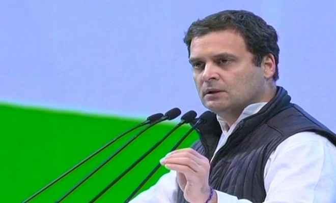 कांग्रेस देश की आवाज है और बीजेपी एक संगठन की आवाज: राहुल गांधी