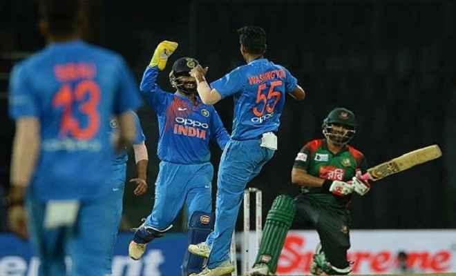 भारत ने जीता टॉस: बांग्लादेश को मिला पहले बल्लेबाजी करने का न्यौता