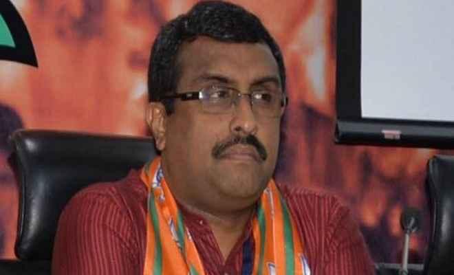 राम माधव बोले: 2019 में ईवीएम की जगह बैलेट पेपर से हो सकते हैं चुनाव