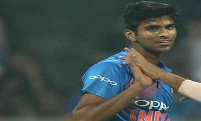 5 मैचों में 8 विकेट ले सुंदर ने बनाया नया रिकार्ड