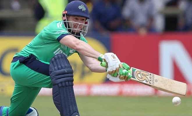 आयरलैंड ने स्कॉटलैंड को 25 रनों से हराया