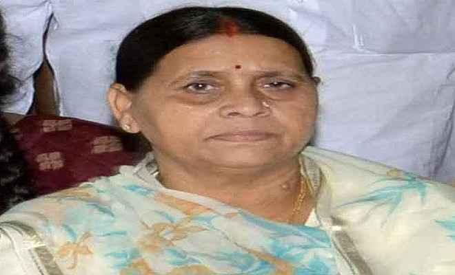 गिरिराज और अश्विनी की बिहार में नहीं होने देंगे इंट्री : राबड़ी देवी