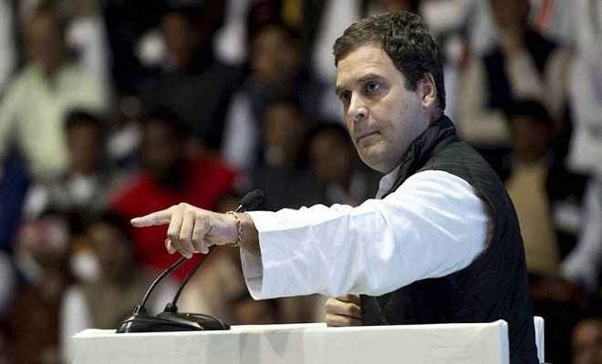सत्ता में बने रहने के लिए झूठ पर झूठ बोल रही है भाजपा: राहुल