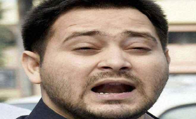 भागलपुर मामला: केंद्रीय मंत्री का बेटा हो गिरफ्तार : तेजस्वी