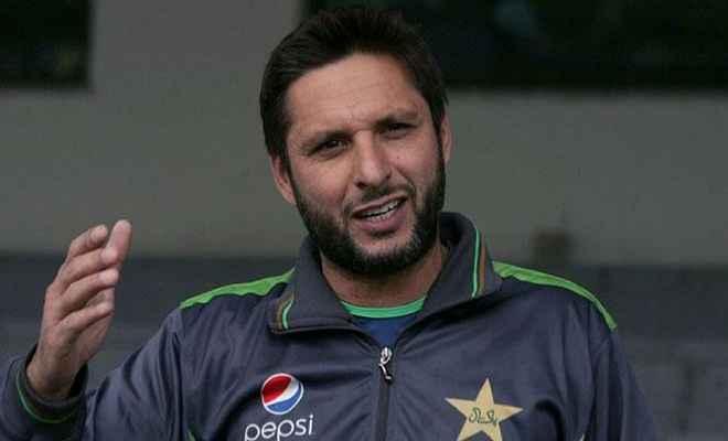पाकिस्तान सुपर लीग टी20 प्रतियोगिता में भारतीय खिलाड़ियों को भी आमंत्रित किया जाना चाहिए : अफरीदी