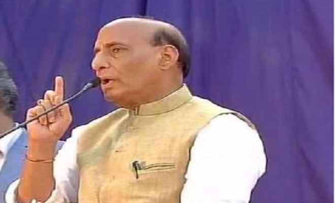 गृह मंत्री राजनाथ सिंह ने कहा, देश में खत्म होने के कगार पर है नक्सलवाद