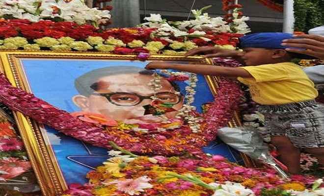 बिहार में कई राजनीतिक दलों ने मनाया आंबेडकर जयंती