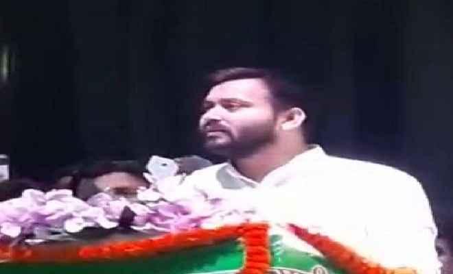 अम्बेडकर जयंती: तेजस्वी ने बीजेपी और आरएसएस पर जमकर बोला हमला