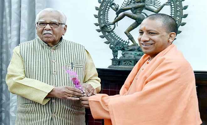मुख्यमंत्री योगी ने नाईक से की शिष्टाचार मुलाकात, इस सामारोह में मुख्य अतिथि के तौर पर किया आमंत्रित