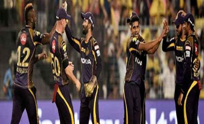 आईपीएल 2018: केकेआर ने दिल्ली डेयरडेविल्स को 71 रनों से हराया
