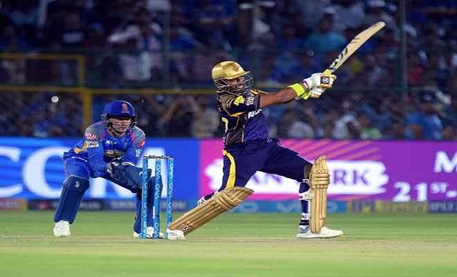 केकेआर ने राजस्थान रॉयल्स को 7 विकेट से हराया