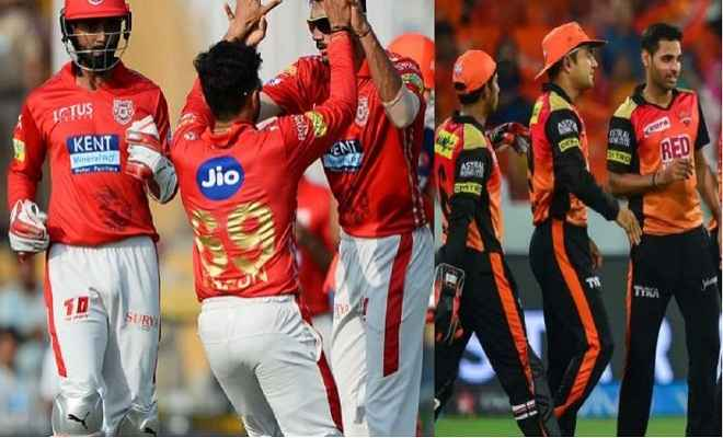 हैदराबाद और पंजाब के बीच रोमांचक मुकाबले की उम्मीद