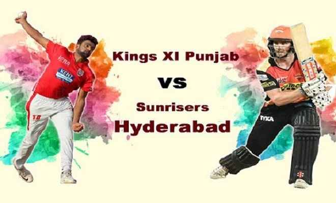 पंजाब ने हैदराबाद के खिलाफ टॉस जीतकर पहले बल्लेबाजी करने का फैसला लिया