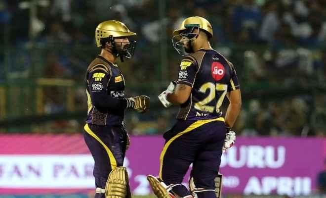 आईपीएल 2018 : कोलकाता को तीसरा झटका, लिन ने भी ठोका अर्धशतक